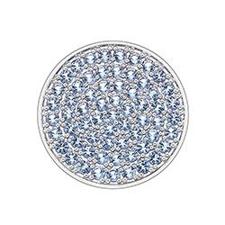 Obrázek è. 2 k produktu: Pøívìsek Hot Diamonds Emozioni Scintilla Blue Peace Coin