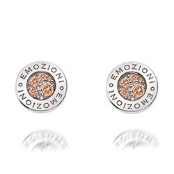 Obrázek è. 2 k produktu: Støíbrné náušnice Hot Diamonds Emozioni Scintilla Champagne Loyalty