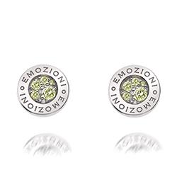 Obrázek č. 1 k produktu: Stříbrné náušnice Hot Diamonds Emozioni Scintilla Peridot Nature