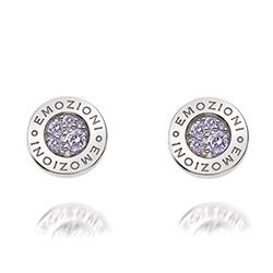 Obrázek è. 2 k produktu: Støíbrné náušnice Hot Diamonds Emozioni Scintilla Lavender Calmess