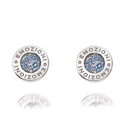 Obrázek è. 2 k produktu: Støíbrné náušnice Hot Diamonds Emozioni Scintilla Blue Peace
