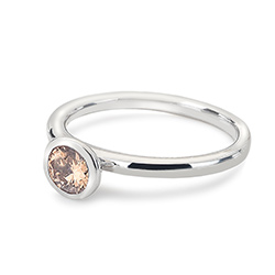 Obrázek è. 2 k produktu: Støíbrný prsten Hot Diamonds Emozioni Scintilla Champagne Loyalty
