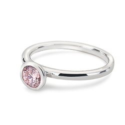 Obrázek è. 2 k produktu: Støíbrný prsten Hot Diamonds Emozioni Scintilla Pink Compassion