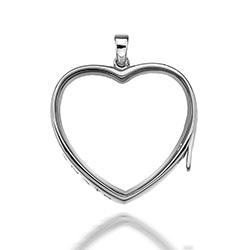 Obrázek è. 4 k produktu: Pøívìsek na elementy Hot Diamonds Anais Srdce EX009