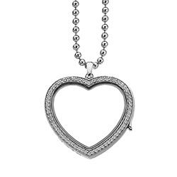 Obrázek è. 2 k produktu: Pøívìsek na elementy Hot Diamonds Anais Srdce EX011
