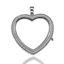 Obrázek è. 6 k produktu: Pøívìsek na elementy Hot Diamonds Anais Srdce EX011