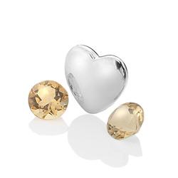 Pøívìsek Hot Diamonds Srdce Listopad Anais element EX130