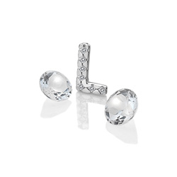 Pøívìsek Hot Diamonds Abeceda Anais element EX231