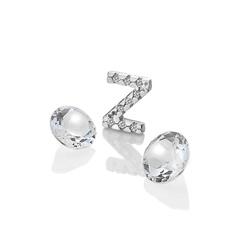 Pøívìsek Hot Diamonds Abeceda Anais element EX245