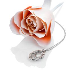Obrázek č. 2 k produktu: Stříbrný přívěsek Hot Diamonds Chandelier Vintage Rose Gold