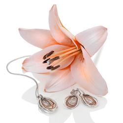 Obrázek è. 6 k produktu: Støíbrné náušnice Hot Diamonds Chandelier Vintage Drop Rose Gold