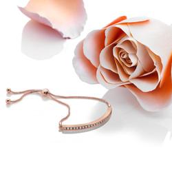 Obrázek è. 6 k produktu: Støíbrný náramek Hot Diamonds Crystal Clear Rose Gold