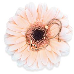 Obrázek è. 6 k produktu: Støíbrný náramek Hot Diamonds Infinity Draw Rose Gold