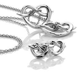 Obrázek è. 12 k produktu: Støíbrné náušnice Hot Diamonds Infinity Heart
