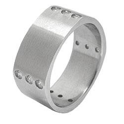 Prsten z chirurgické oceli Stonies RSS02 Tribal