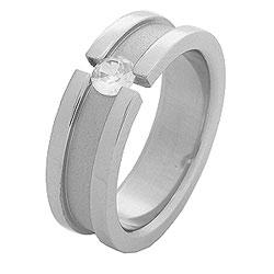 Prsten z chirurgické oceli RSS10 Tribal