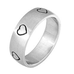 Prsten z chirurgické oceli RSS 232 Tribal