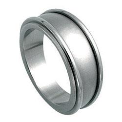 Prsten z chirurgické oceli RSS243 Tribal