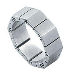 Prsten z chirurgické oceli RSS25 Tribal