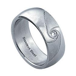 Prsten z chirurgické oceli RSS26