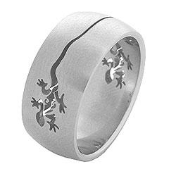 Prsten z chirurgické oceli RSS41