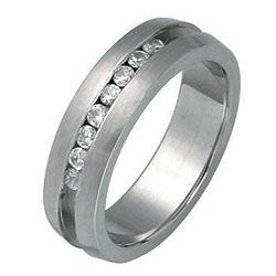 Prsten z chirurgické oceli RSSJ05 Tribal