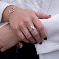 Obrázek è. 10 k produktu: Støíbrný prsten Hot Diamonds Adorable Encased DR201