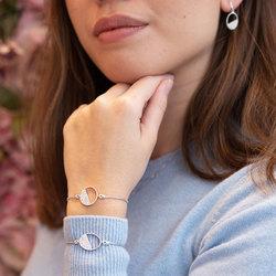 Obrázek č. 11 k produktu: Stříbrný náramek Hot Diamonds Horizon Topaz DL602