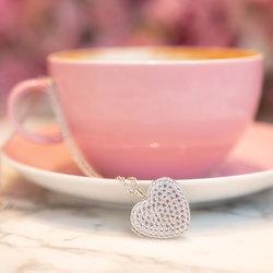 Obrázek č. 3 k produktu: Stříbrný náhrdelník Hot Diamonds Memories Heart Locket DP770