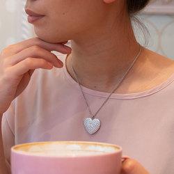 Obrázek č. 5 k produktu: Stříbrný náhrdelník Hot Diamonds Memories Heart Locket DP770