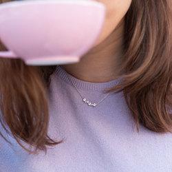 Obrázek č. 3 k produktu: Stříbrný náhrdelník Hot Diamonds Tender DN147