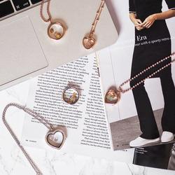 Obrázek è. 4 k produktu: Pøívìsek Hot Diamonds Srdce Listopad Anais element EX130