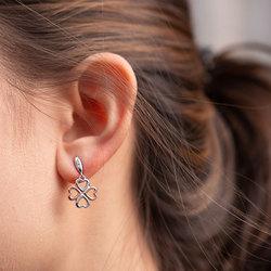 Obrázek č. 3 k produktu: Stříbrné náušnice Hot Diamonds Lucky in Love RG DE635