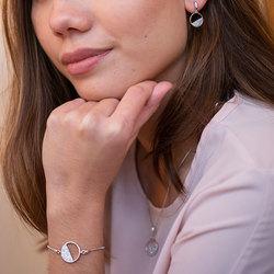 Obrázek č. 5 k produktu: Stříbrný náramek Hot Diamonds Horizon Topaz DL601