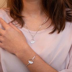 Obrázek č. 7 k produktu: Stříbrný přívěsek Hot Diamonds Horizon Topaz DP766