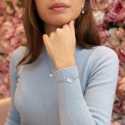 Obrázek č. 3 k produktu: Stříbrný náramek Hot Diamonds Horizon Topaz DL602