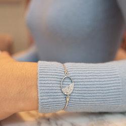 Obrázek č. 7 k produktu: Stříbrný náramek Hot Diamonds Horizon Topaz DL602