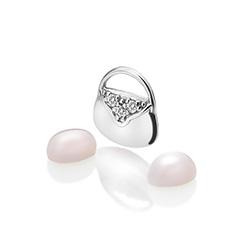 Støíbrný pøívìsek Hot Diamonds Anais køemen element AC118