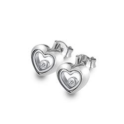 Støíbrné náušnice Hot Diamonds Anais AE013