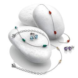 Obrázek č. 3 k produktu: Stříbrné náušnice Hot Diamonds Anais Ametyst AE002