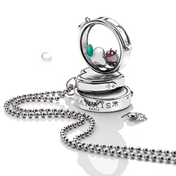 Obrázek è. 12 k produktu: Pøívìsek na elementy Hot Diamonds Anais Srdce EX001