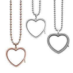 Obrázek è. 8 k produktu: Pøívìsek na elementy Hot Diamonds Anais Srdce EX010