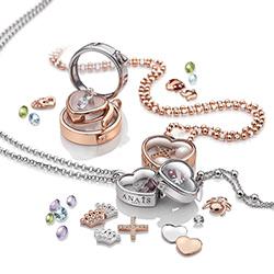 Obrázek è. 4 k produktu: Pøívìsek Hot Diamonds Srdíèka Anais element EX107