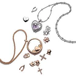 Obrázek è. 12 k produktu: Pøívìsek Hot Diamonds Srdíèka Anais element EX107