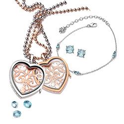 Obrázek è. 8 k produktu: Pøívìsek na elementy Hot Diamonds Anais srdce RG AL013