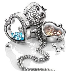 Obrázek è. 10 k produktu: Pøívìsek na elementy Hot Diamonds Anais srdce AL012