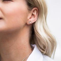 Obrázek č. 7 k produktu: Stříbrné náušnice Hot Diamonds Infinity