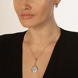 Obrázek è. 4 k produktu: Støíbrné náušnice Hot Diamonds Luxury DE529
