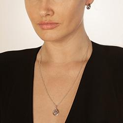Obrázek è. 6 k produktu: Støíbrný pøívìsek Hot Diamonds Luxury DP658
