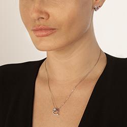 Obrázek è. 4 k produktu: Støíbrné náušnice Hot Diamonds Love DE531